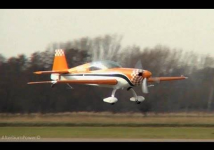 Ewald Polinder airshow Extra 300L practice run 6-3-2013 EHTE – HD video