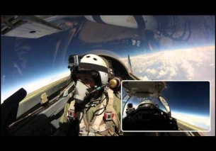 Full length – Mig-29 – Edge of Space Flight