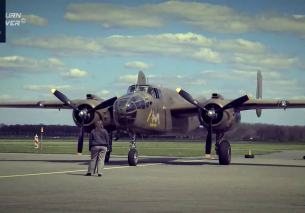 Awesome 71 year old B-25J Mitchell KLuHV Teuge