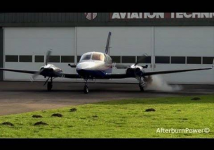 Cessna 421C PH-ITW EHTE 2013