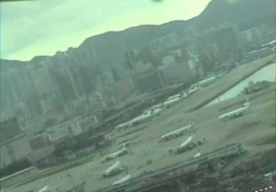 B747 Landing in Hong Kong Kai Tak – Cockpit View