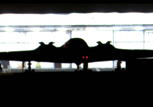 x2 iconic B-2 Stealth Bombers night time arrival into RAF Fairford – 27/08/19